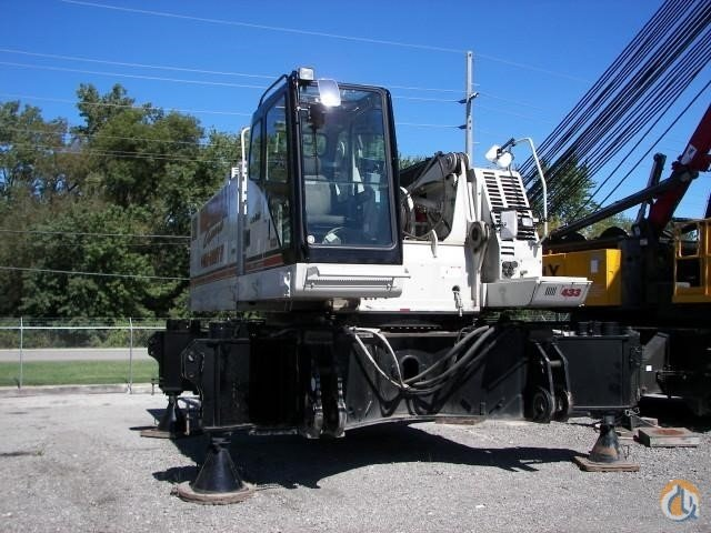 2008 LINK-BELT 298HSL Crane for Sale in Griffith Indiana on CraneNetwork.com