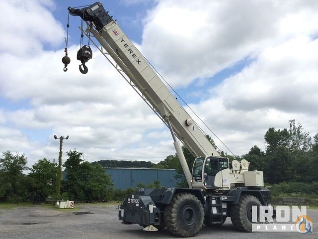Sold 2015 Terex RT670 Rough Terrain Crane Crane for  in Indianola Pennsylvania on CraneNetwork.com