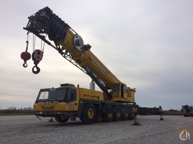 2005 GROVE GMK 5240 Crane for Sale in Tremont Illinois on CraneNetworkcom