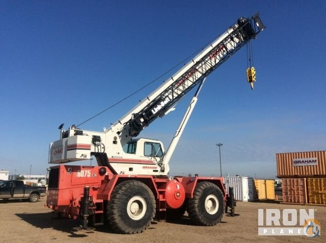 Sold 2007 unverified Link-Belt RTC8075 Rough Terrain Crane Crane for  in Edmonton Alberta on CraneNetwork.com
