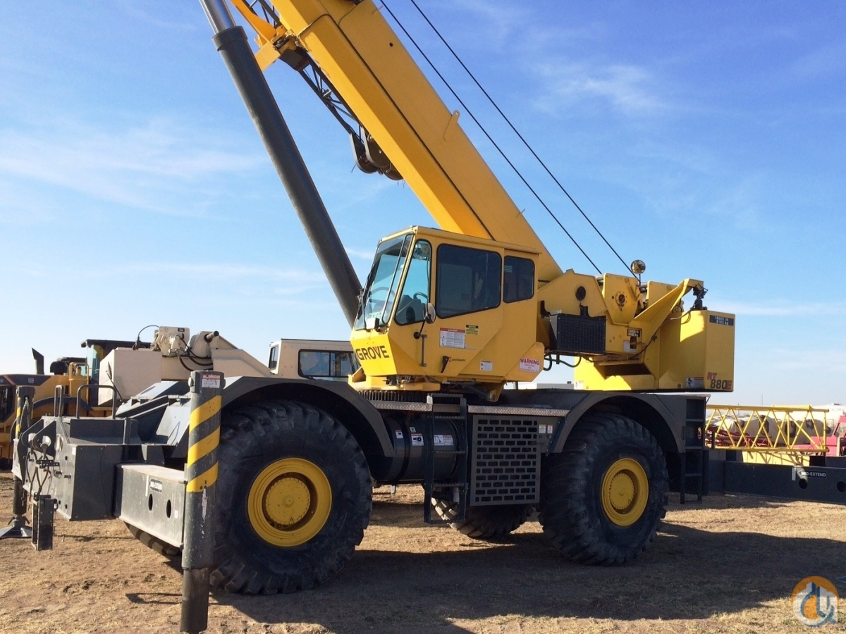 2010 GROVE RT-880E Crane for Sale or Rent in Westlake Louisiana on CraneNetwork.com