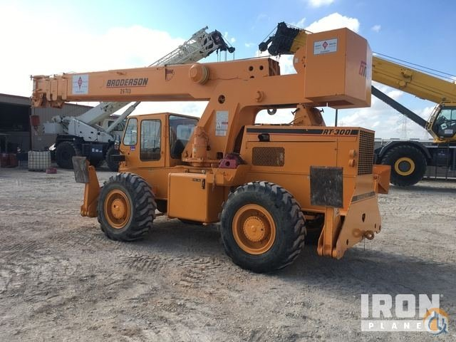 Sold 2007 unverified Broderson RT-300-2C Rough Terrain Crane Crane for  in Converse Texas on CraneNetwork.com