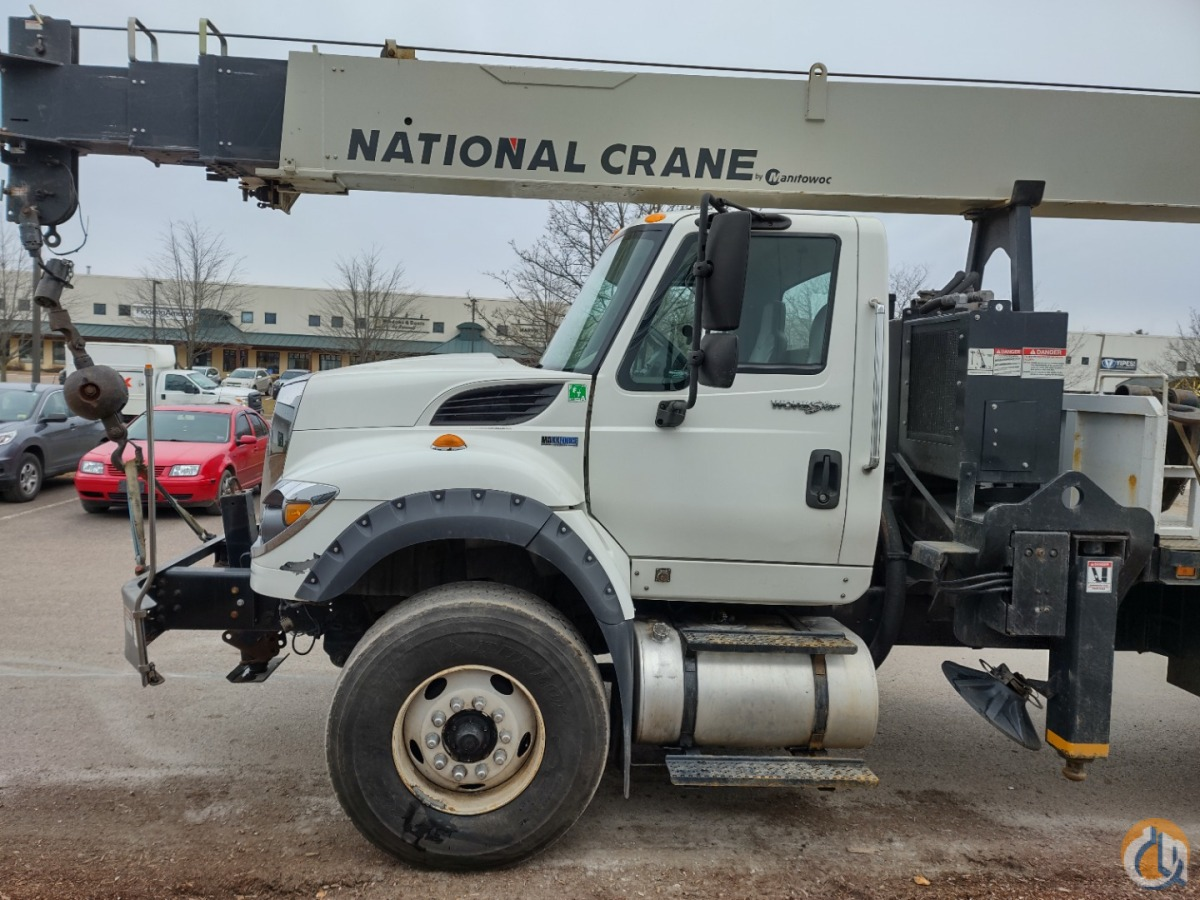 2012 National Crane 13110A Crane for Sale in Oxford Massachusetts on CraneNetwork.com