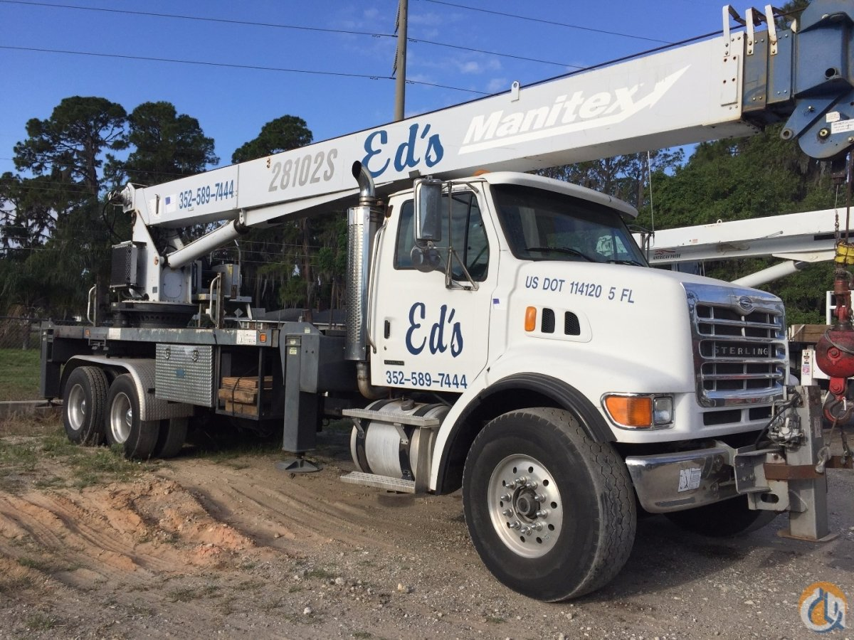 2004 Manitex 28102S Crane for Sale in Eustis Florida on CraneNetwork.com
