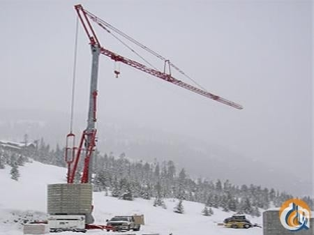 2007 Potain IGO 50 Crane for Sale or Rent in Abbotsford British Columbia on CraneNetworkcom