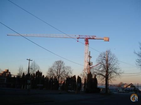 Terex Comedil CTT 181B-8 TS21 2008 Crane for Sale in Tukwila Washington on CraneNetwork.com