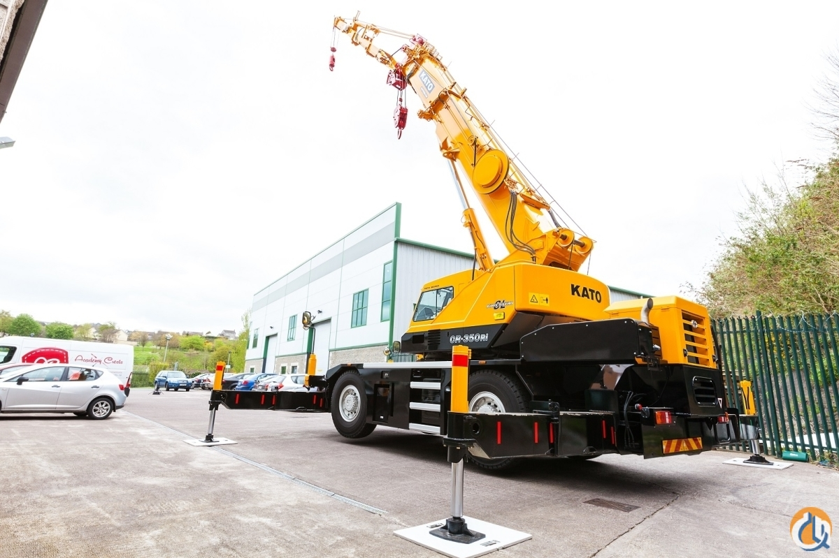 Kato CR-350Ri  Rough Terrain Cranes Crane for Sale NEW KATO CR-350Ri CE Edition- 38t US Double Winch Hydraulic Jib in Cork  County Cork  Ireland 218959 CraneNetwork
