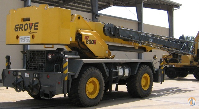 2010 Grove RT600E Crane for Sale in St. Augustine Florida on CraneNetwork.com