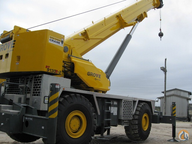 2012 Grove RT9130E-2 Crane for Sale in St Augustine Florida on CraneNetworkcom