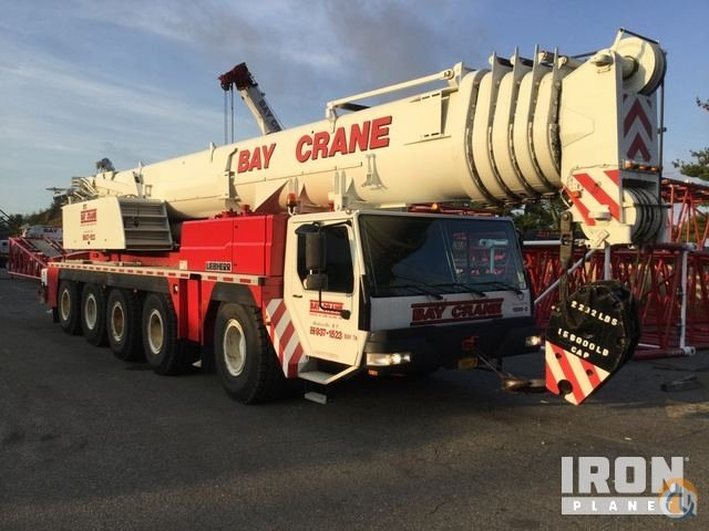 Sold 2003 unverified Liebherr LTM 12001 Hydraulic Truck Crane Crane for  in Hicksville New York on CraneNetwork.com
