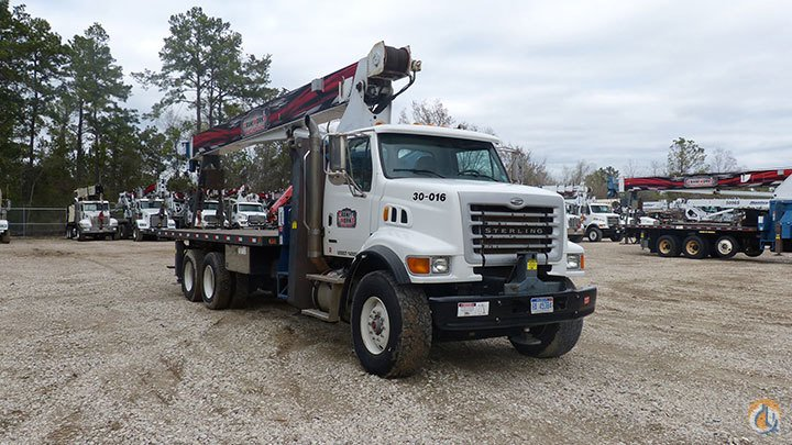 Manitex 30102C mounted to 2007 Sterling LT7501 chassis Crane for Sale or Rent in Houston Texas on CraneNetworkcom