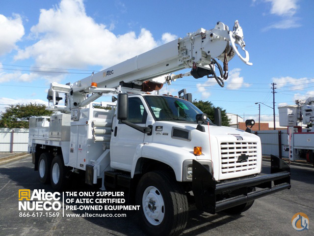 2008 ALTEC D3050-TR Crane for Sale in Birmingham Alabama on CraneNetworkcom