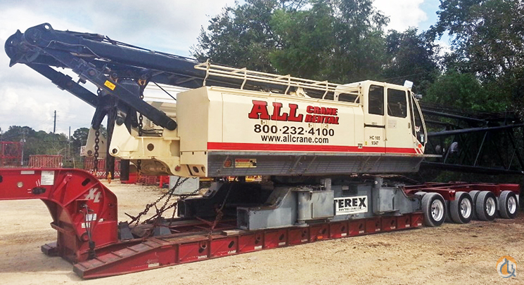 Terex HC165 For Sale Crane for Sale in Baton Rouge Louisiana on CraneNetworkcom