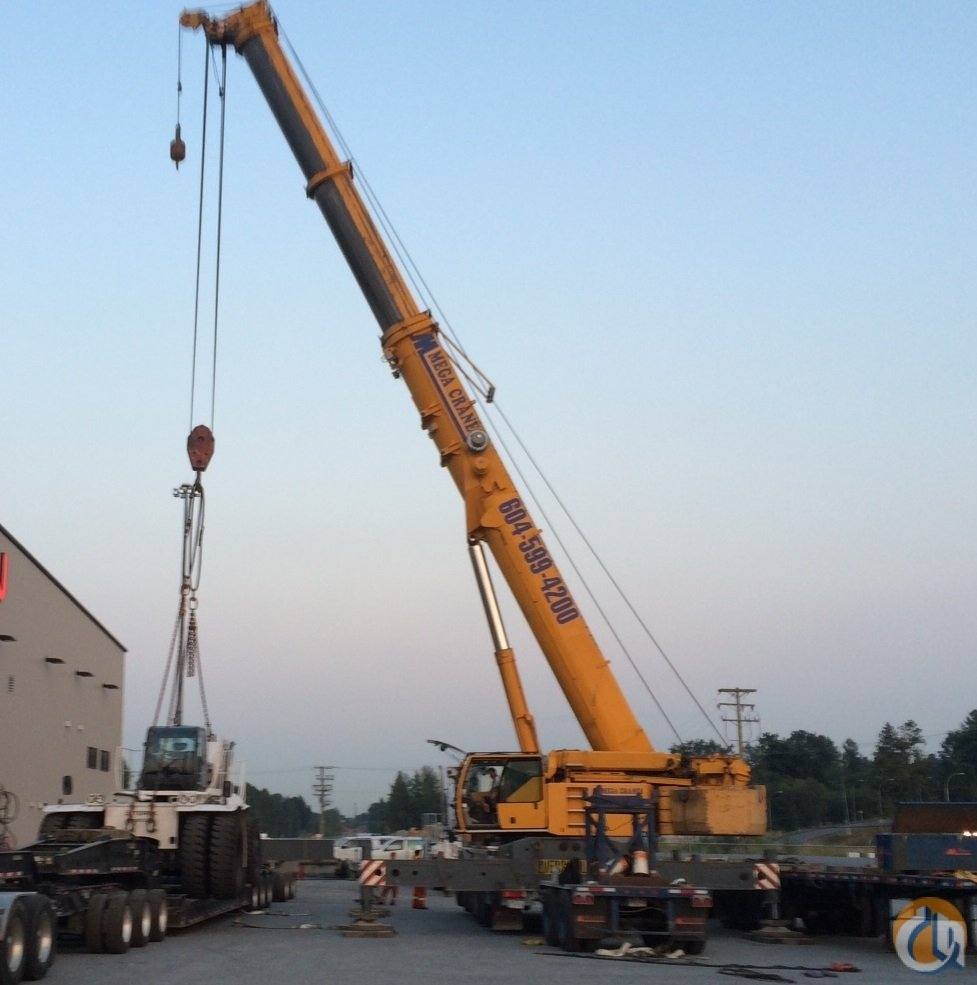 2004 LIEBHERR LTM 1200-1 Crane for Sale or Rent in Surrey British Columbia on CraneNetwork.com