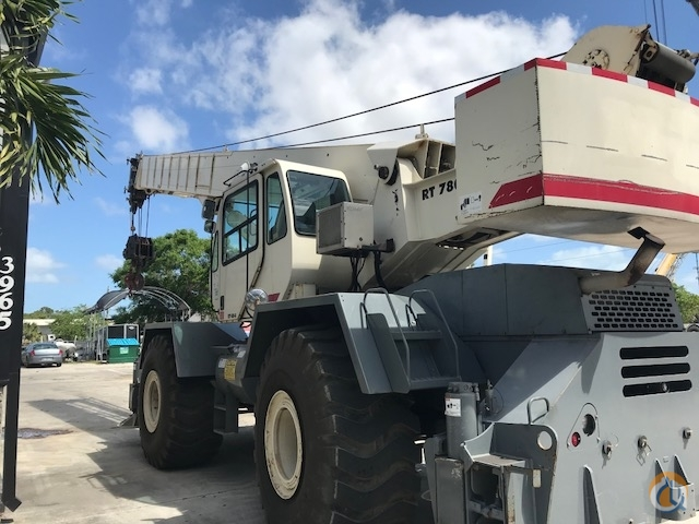 2007 Terex RT780 Crane for Sale or Rent in Fort Pierce Florida on CraneNetwork.com