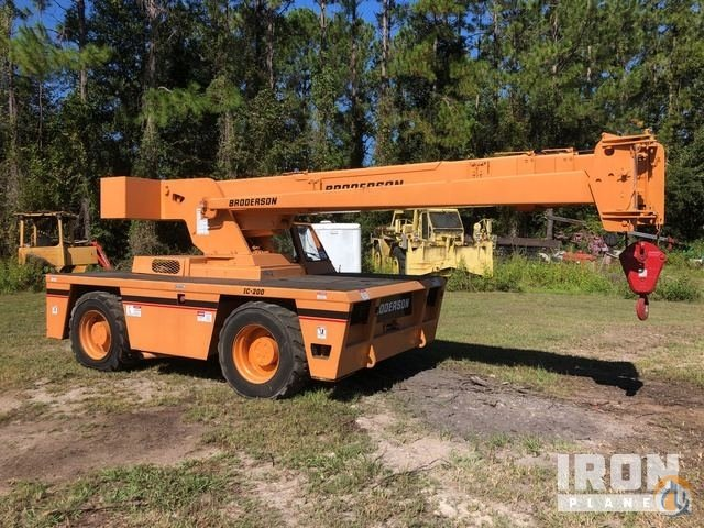 2006 unverified Broderson IC-200-3F Carry Deck Crane Crane for Sale in Callahan Florida on CraneNetwork.com