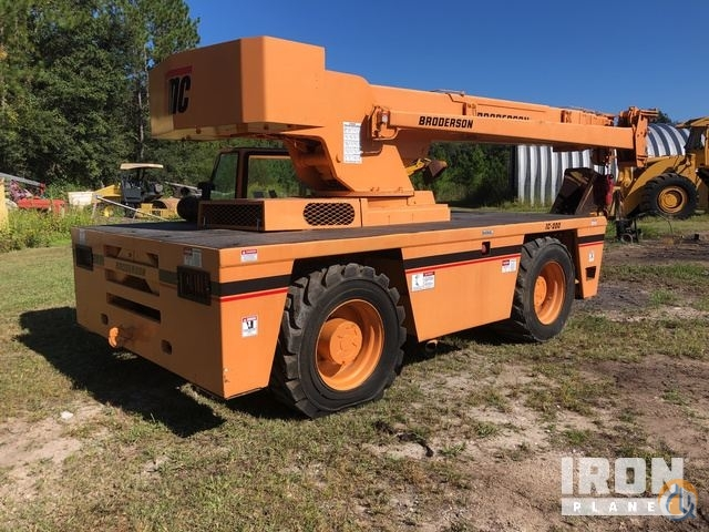 Sold 2006 unverified Broderson IC-200-3F Carry Deck Crane Crane for  in Callahan Florida on CraneNetwork.com