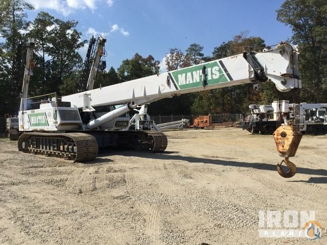 2003 unverified SpanDeckMantis 14010 Telescopic Crawler Crane Crane for Sale in Chester Virginia on CraneNetwork.com