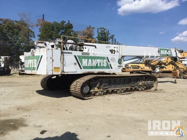 Sold 2003 unverified SpanDeckMantis 14010 Telescopic Crawler Crane Crane for  in Chester Virginia on CraneNetwork.com