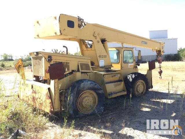 Sold Grove RT-58 Rough Terrain Crane Crane for  in Hillsboro Ohio on CraneNetwork.com