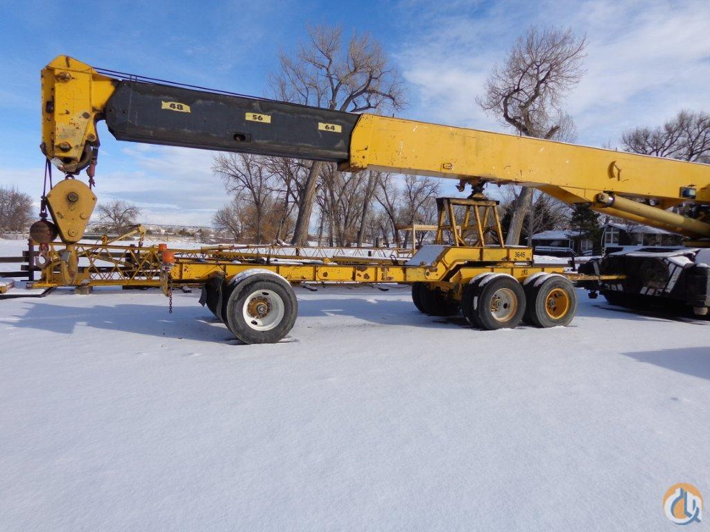 1981 Bucyrus-Erie 60-XC Crane for Sale in Wapiti Wyoming on CraneNetworkcom