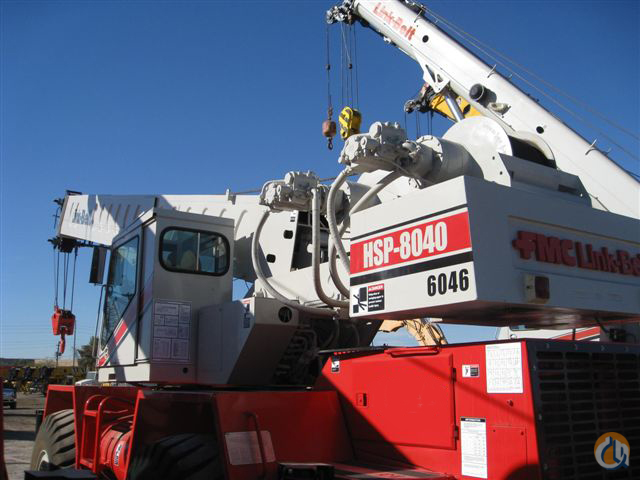 1985 Link Belt HSP 8040 Rough Terrain Crane for Sale in Long Beach California on CraneNetworkcom