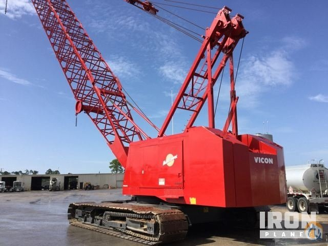Manitowoc 4100W Vicon Series II Crawler Lattice Boom Cranes Crane for Sale 1978 Manitowoc 4100W Vicon Series II Lattice-Boom Crawler Crane in Gulfport  Mississippi  United States 219030 CraneNetwork