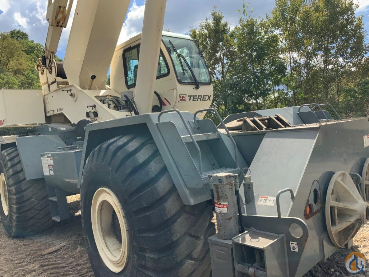2008 Terex RT555 Crane for Sale in Pittsburgh Pennsylvania on CraneNetwork.com