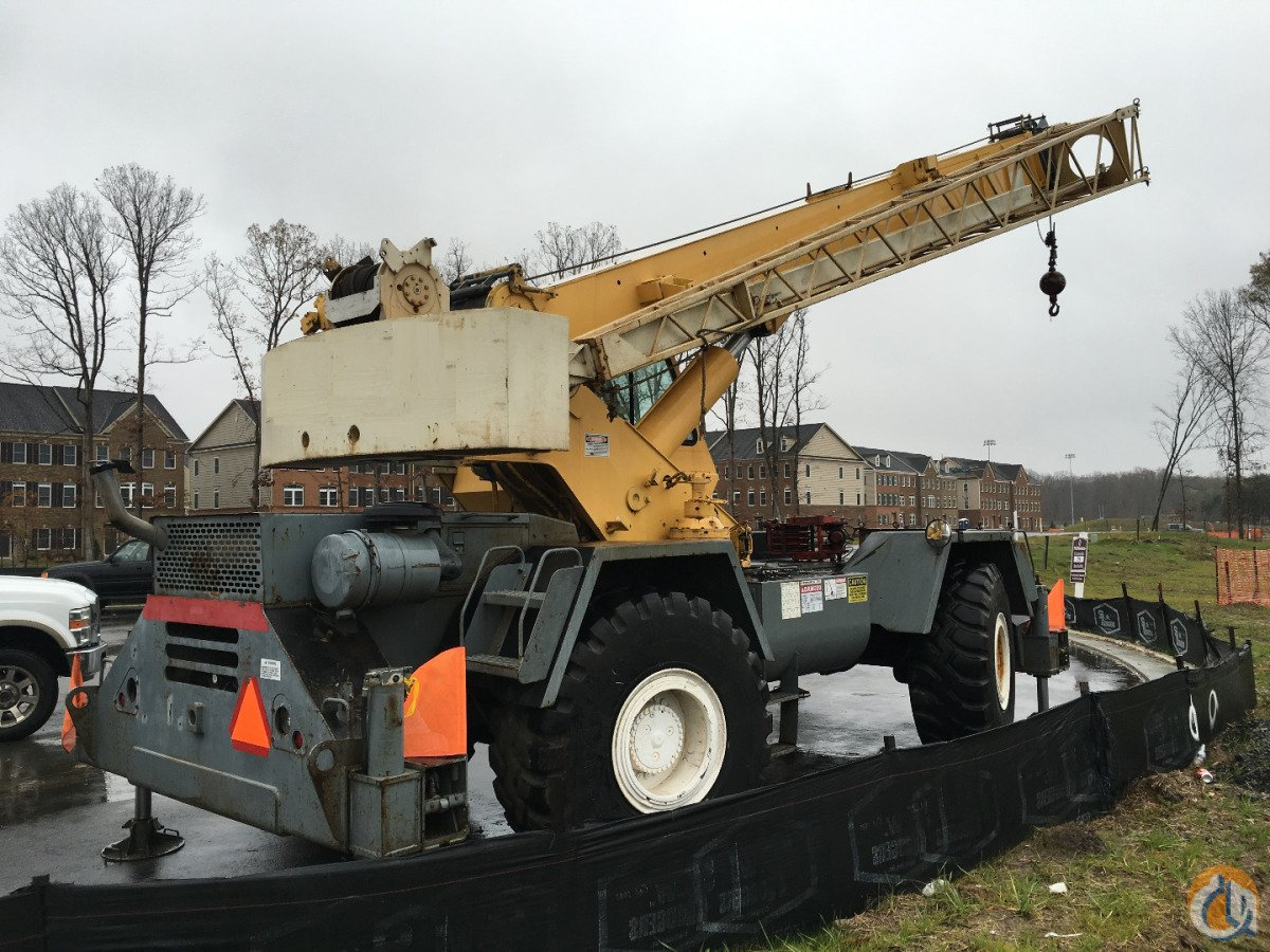 Terex RT335 Rough Terrain Cranes Crane for Sale 1998 TEREX LORAIN RT335 in  Virginia  United States 208532 CraneNetwork