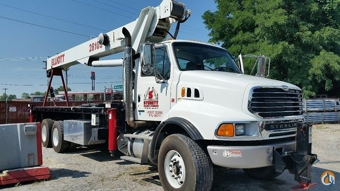2007 Elliott 28105F Crane for Sale in Spring Hill Tennessee on CraneNetwork.com