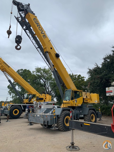 Grove RT-650E from our rental fleet Crane for Sale or Rent in Euless Texas on CraneNetwork.com