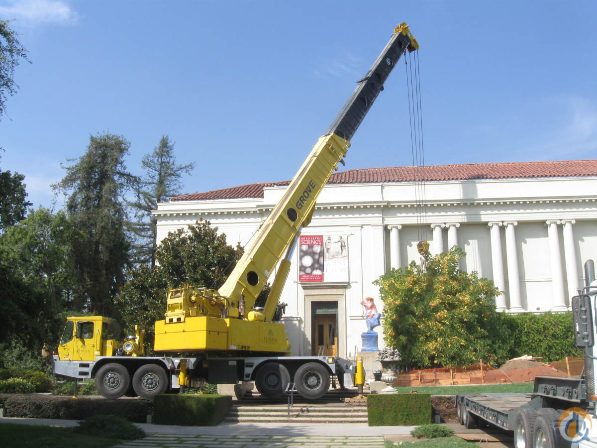 Sold 1996 Grove TM9120 Crane for  in Los Angeles California on CraneNetwork.com