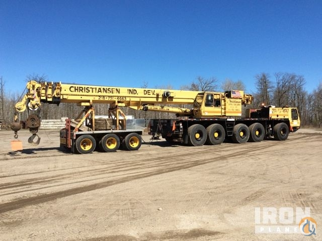 Sold 1999 Grove GMK5130 All Terrain Crane Crane for  in Bemidji Minnesota on CraneNetworkcom
