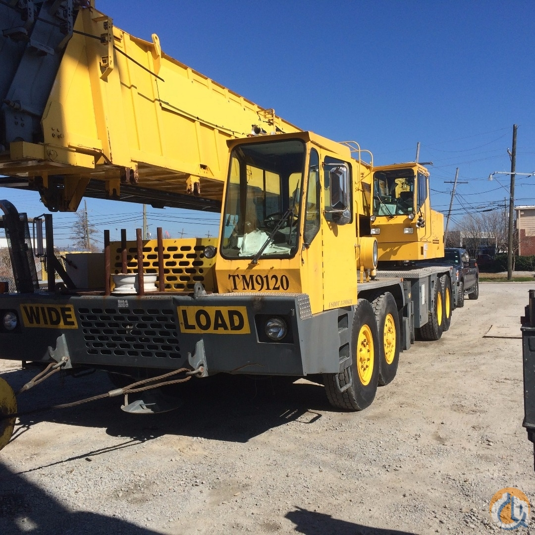 1995 Grove TM9120 Crane for Sale on CraneNetwork.com
