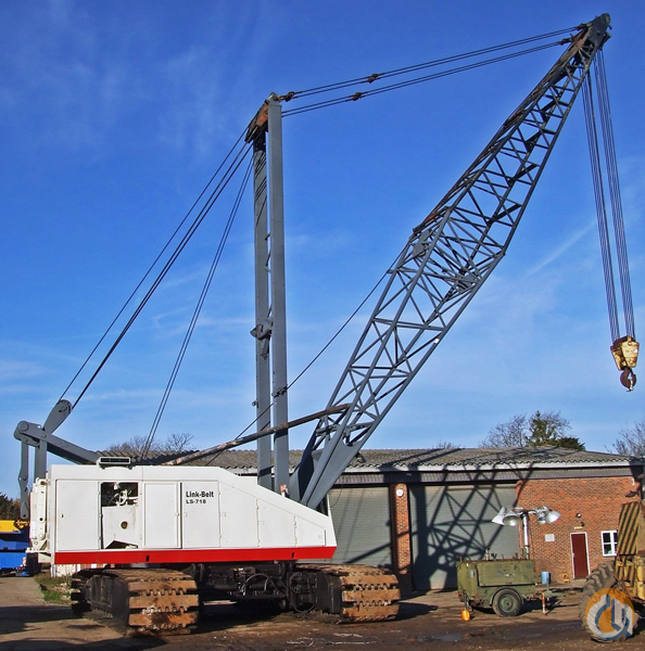 Link belt crawler cranes : Ton link belt crawler crane for sale in dartford