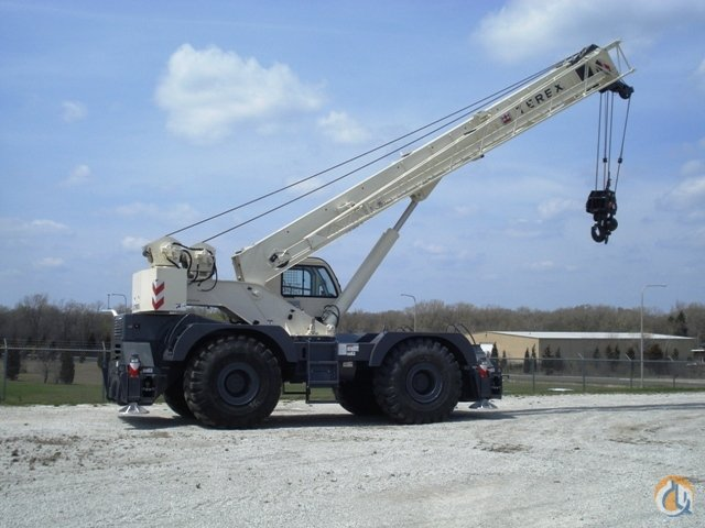 TEREX RT670 ROUGH TERRAIN CRANE Crane for Sale in Gary Indiana on CraneNetwork.com
