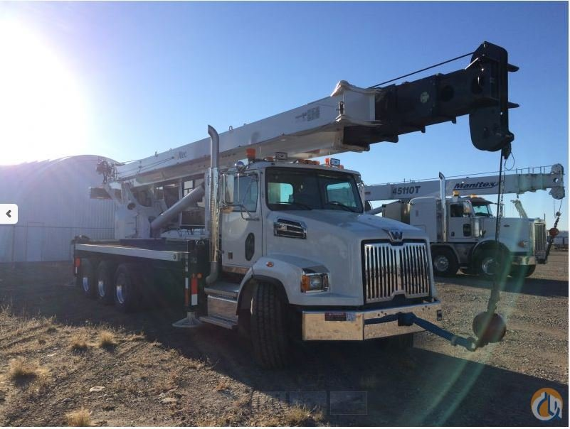 ALTEC AC45-127S MOUNTED ON A 2015 WESTERN STAR 4700SB Crane for Sale in Leduc Alberta on CraneNetworkcom