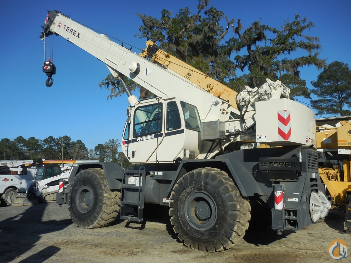 2015 TEREX RT-555 Crane for Sale or Rent in Savannah Georgia on CraneNetwork.com