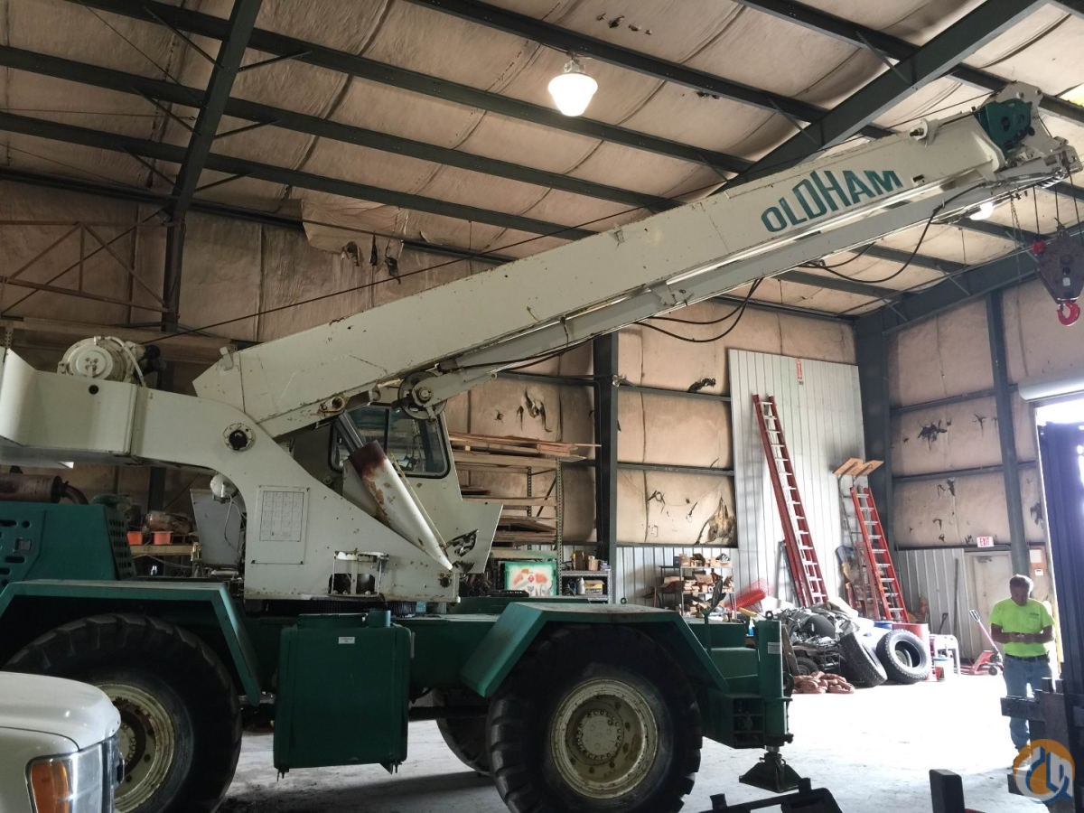 Sold 1987 RT525 Crane for Sale Crane for  in Memphis Tennessee on CraneNetworkcom