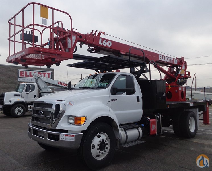 New 2016 Elliott L60R Sign Truck for Sale Crane for Sale in Pflugerville Texas on CraneNetworkcom