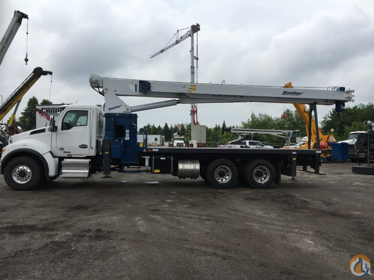 2019 MANITEX 30100C A Crane for Sale or Rent in Oakville Ontario on CraneNetwork.com