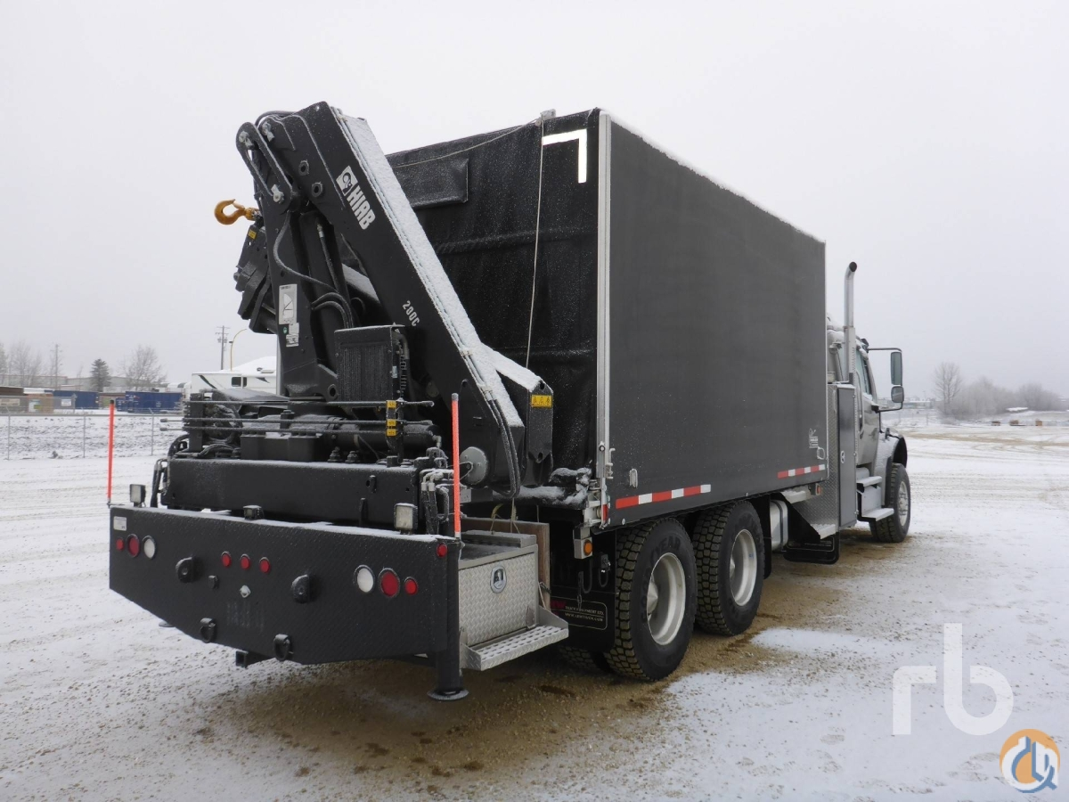 Sold 2013 FREIGHTLINER M2106 Business Class TA wHiab 200C-3 Boom Truck Crane for  in Edmonton Alberta on CraneNetworkcom