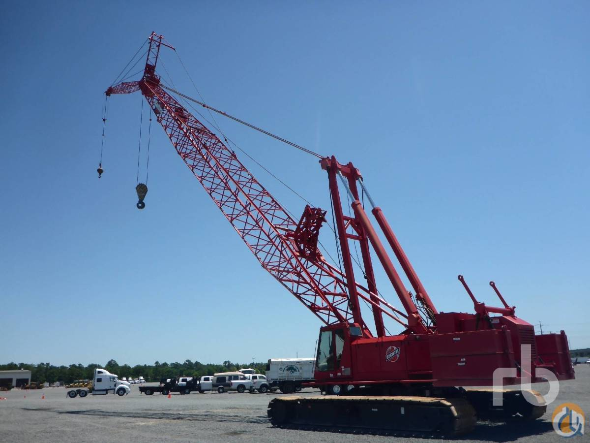 Sold 1999 MANITOWOC 777 200 Ton Crawler Crane Crane for  in Houston Texas on CraneNetworkcom