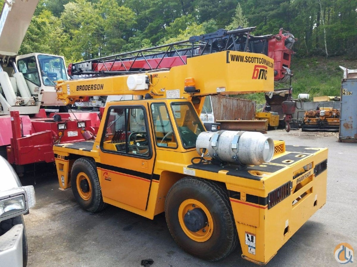 Used 2003 Broderson IC80-3J PRICE REDUCED Crane for Sale on CraneNetworkcom
