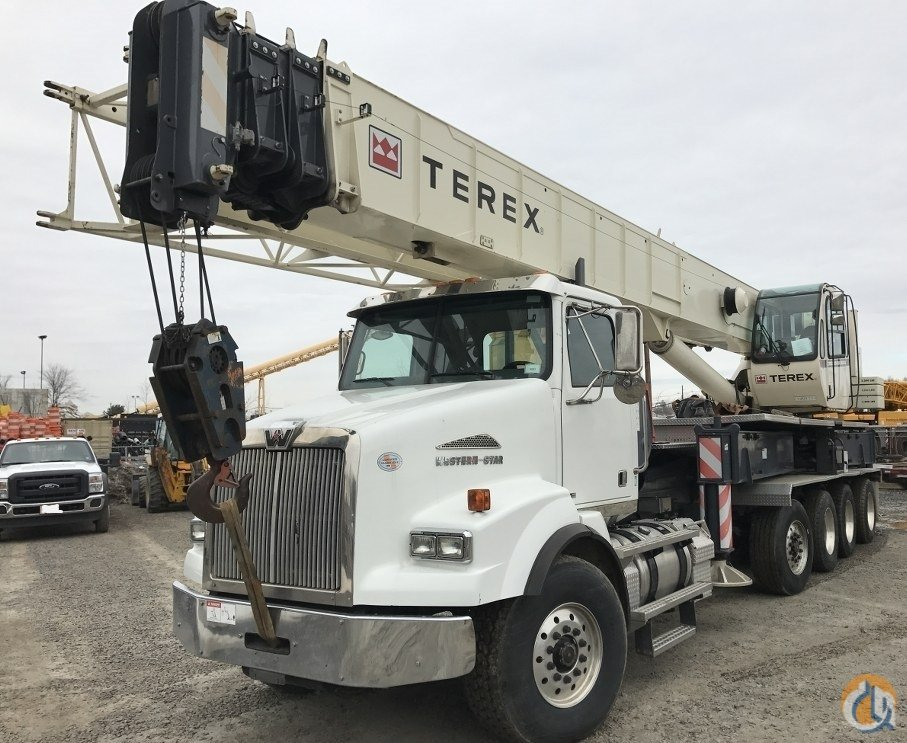 Sold 2012 TEREX CROSSOVER 5000 Crane for  in Raritan New Jersey on CraneNetwork.com