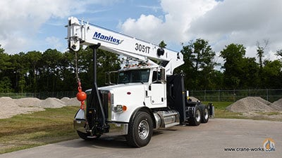 sold new manitex 3051c tractor mount boom truck crane for. Black Bedroom Furniture Sets. Home Design Ideas