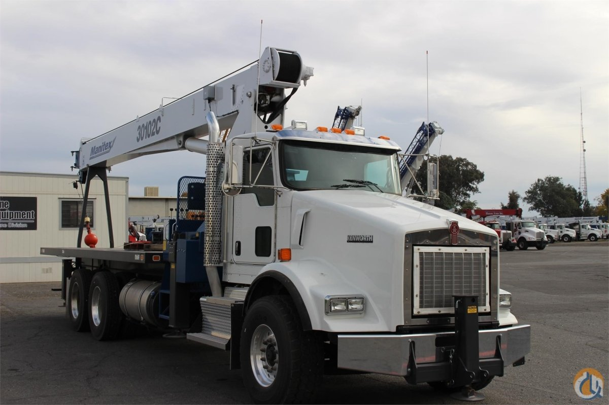 2015 MANITEX 30102C Crane for Sale or Rent in Sacramento California on CraneNetworkcom