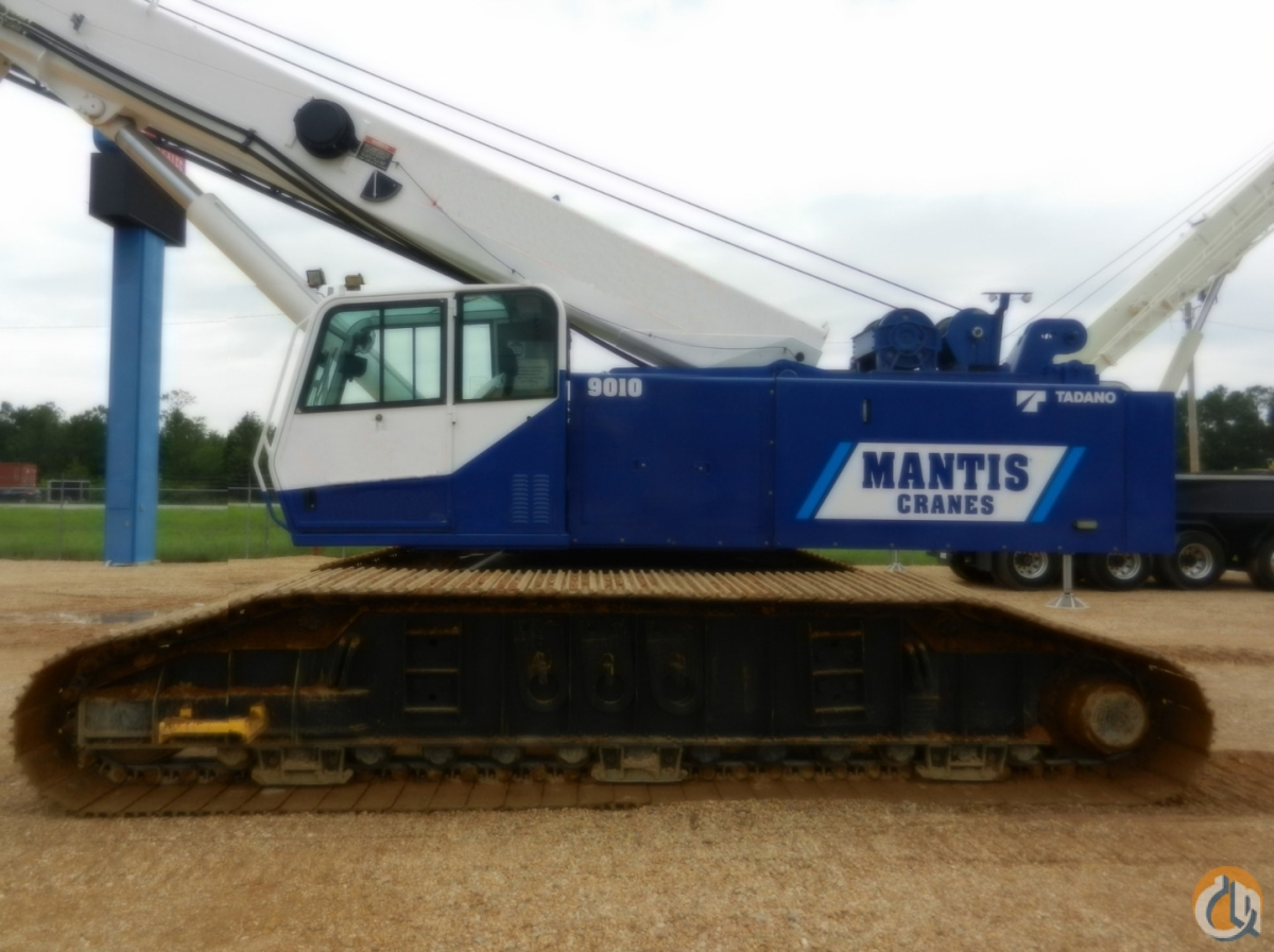 2008 MANTIS 9010 Crane for Sale or Rent in Savannah Georgia on CraneNetworkcom