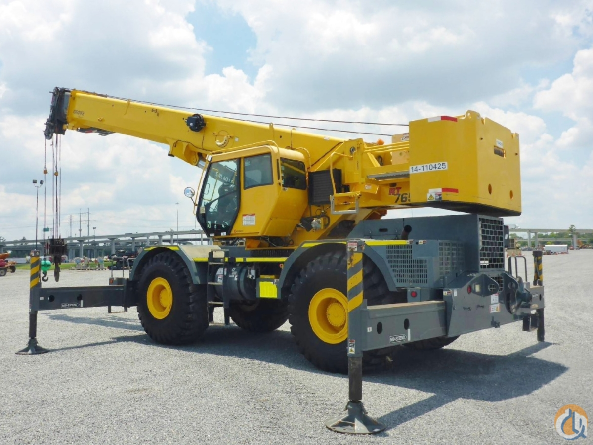2012 GROVE RT-765E-2 Crane for Sale or Rent in Vicksburg Mississippi on CraneNetwork.com