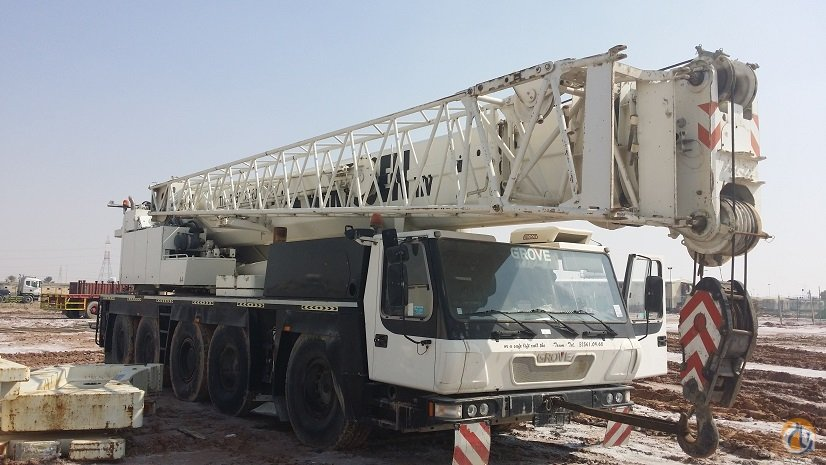 2004 Grove GMK 5100 Crane for Sale or Rent in Abu Dhabi Abu Dhabi on CraneNetwork.com